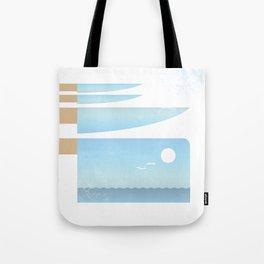 Choppy Waves Tote Bag