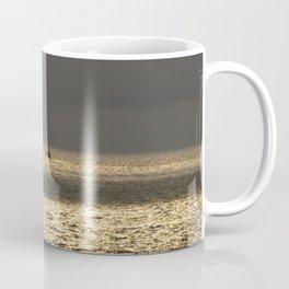Morning Sailing at early time Coffee Mug