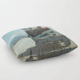 NEVER STOP EXPLORING II SUMMER EDITION Floor Pillow