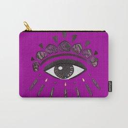Kenzo eye in purple Carry-All Pouch