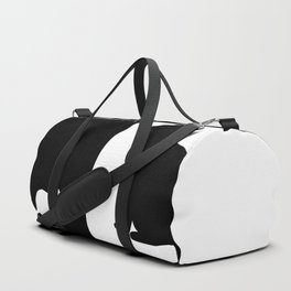 Black Cat white Mouse Duffle Bag