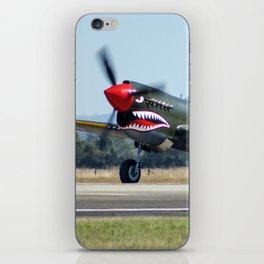 VH-ZOC Curtiss P-40N Warhawk iPhone Skin