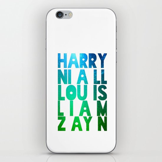 One Direction iPhone & iPod Skin