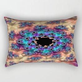 Boy of Destiny Fractal - Abstract Art Rectangular Pillow