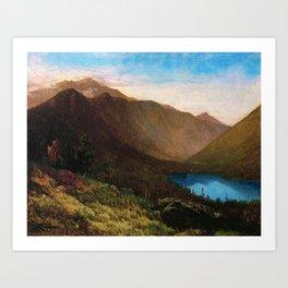 Mount Lafayette - Franconia Notch, New Hampshire by Thomas Hill Art Print