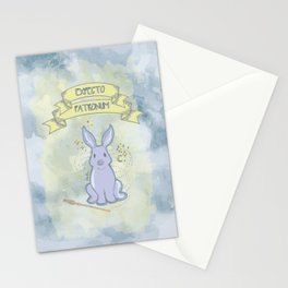 Expecto Patronum-Luna Stationery Cards