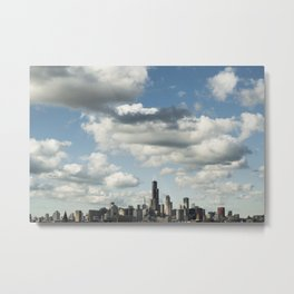Chicago Skyline #1 Metal Print