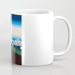 Rainstorm Below the Summit Coffee Mug