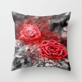 Gothic romance Throw Pillow