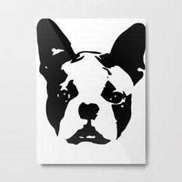 Boston Terrier Gifts Metal Print