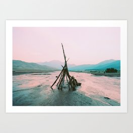 Primitive Structures, FILM Art Print