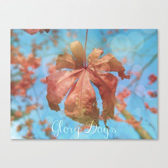 Glory Days Canvas Print