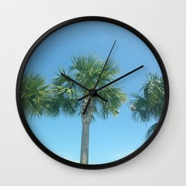 Three Palm Trees or Whatever Fits on the Product You Like Wall Clock