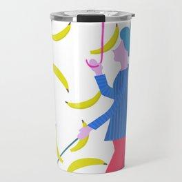 Raining Bananas Travel Mug