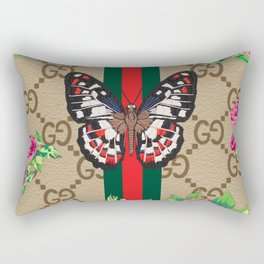 Guci Butterfly Rectangular Pillow