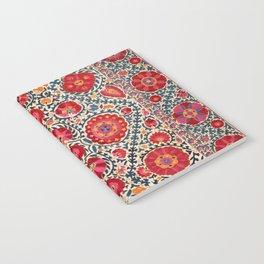 Kermina Suzani Uzbekistan Embroidery Print Notebook