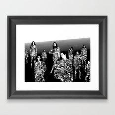 Hypnotisieren Framed Art Print