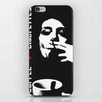 cigarettes iPhone & iPod Skins featuring coffee + cigarettes by Jay Hops :: www.jayhops.de