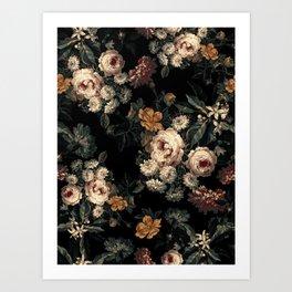 Midnight Garden XIV Art Print