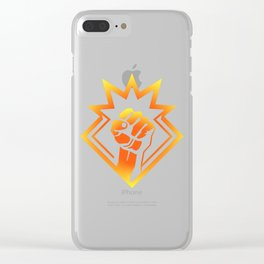 Demolitionist Clear iPhone Case