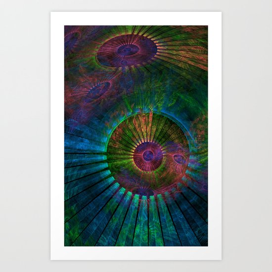 Fractal with no name Art Print
