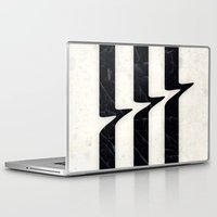 glitch Laptop & iPad Skins featuring Glitch by Chad De Gris
