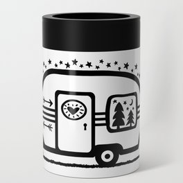 Home Is Where We Roam Rv Camper Road Trip Can Cooler