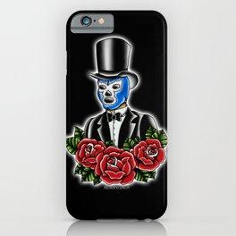 Blue Demon Gent iPhone Case