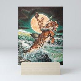 Tiger-shark Mini Art Print