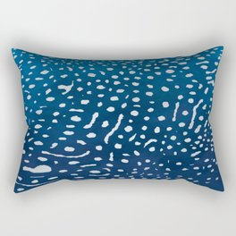 Whale shark skin. Rectangular Pillow