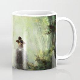 Merlin: Placing the sword in the stone Coffee Mug