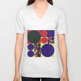 Squared Circles Unisex V-Neck