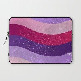 Ultra violet stripes 02 Laptop Sleeve