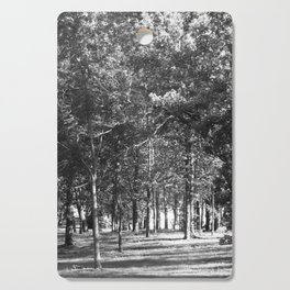 Black-and-White Woods Cutting Board