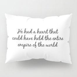 Literature book lover cute quote for gift Pillow Sham