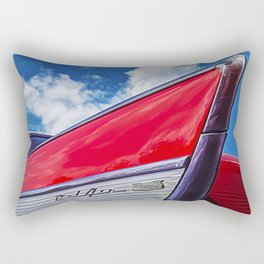 Red Bel Air Rectangular Pillow