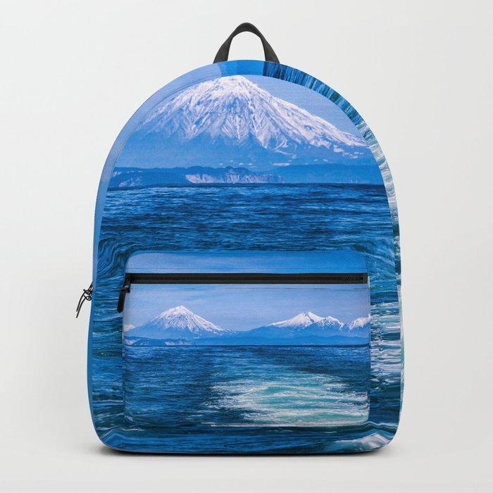 Pacific Ocean Backpack