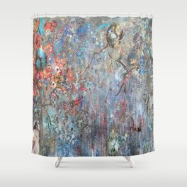Mindless Imaginings Shower Curtain