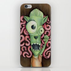 Monster 1: Floyd. iPhone & iPod Skin
