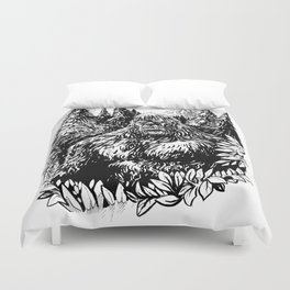 PACIFIC NORTHWEST SASQUATCH Duvet Cover