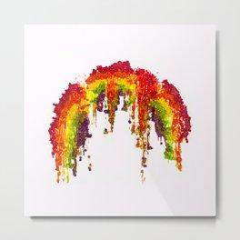 Skittles: Murder the rainbow---Trayvon Martin 1995-2012 Metal Print