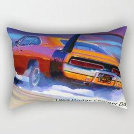 1969 dodge charger daytona Rectangular Pillow