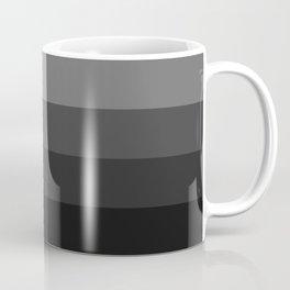 Four Shades of Black Coffee Mug