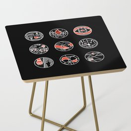 blurry icons II Side Table