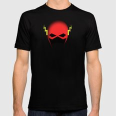 The Cowl: The Flash Mens Fitted Tee Black MEDIUM