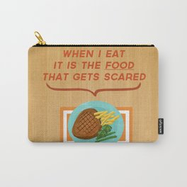 Scary Food Carry-All Pouch