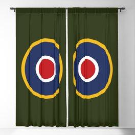 RAF Type C.1 Roundel Blackout Curtain