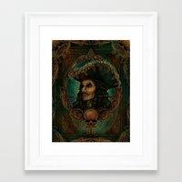 hook Framed Art Prints featuring Hook by ManuelDA