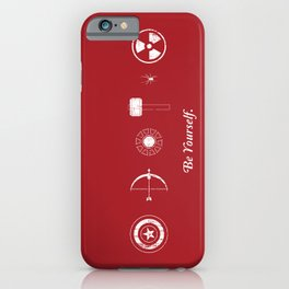 The Avengers: Be Yourself. iPhone Case