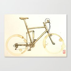 Coffee Wheels #02 Canvas Print